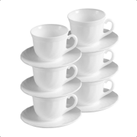 Luminarc Cup & Saucer 16 cl (Set of 12)